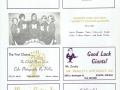 Marion Giants football game advertisements