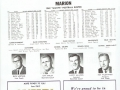 1969 MHS Giants - team roster (from game program)