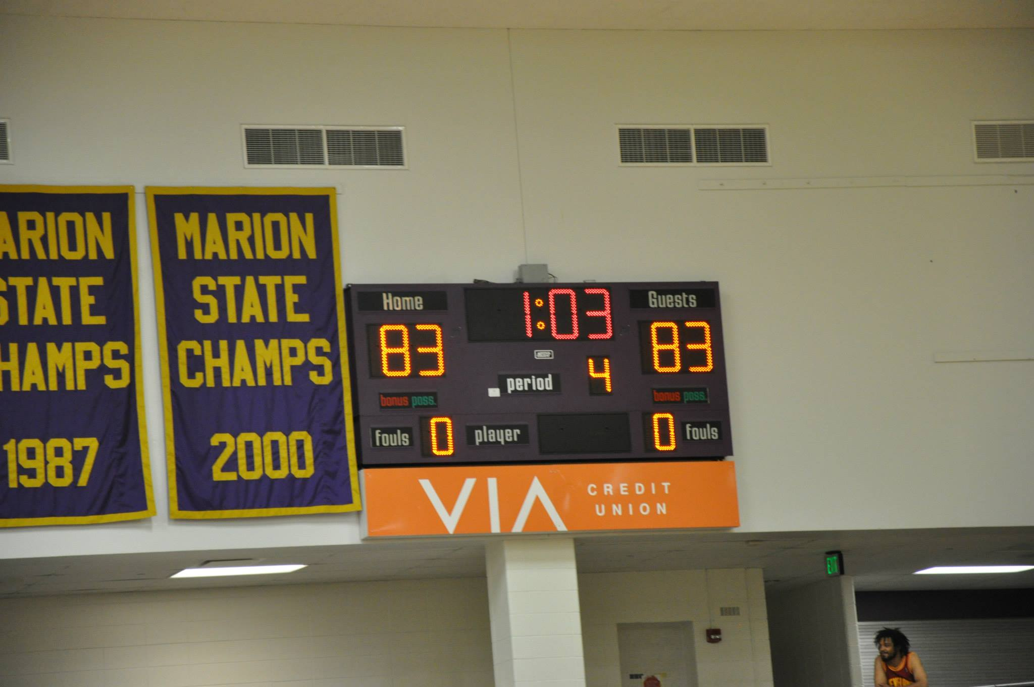 Giant Challenge 2015 boys basketball game