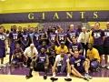 Giant Challenge 2015 boys basketball alumni teams