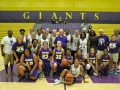 Giant Challenge 2015 girls basketball teams