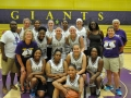 Giant Challenge 2015 girls basketball alumni team