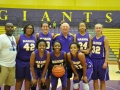 Giant Challenge 2015 girls basketball varsity team