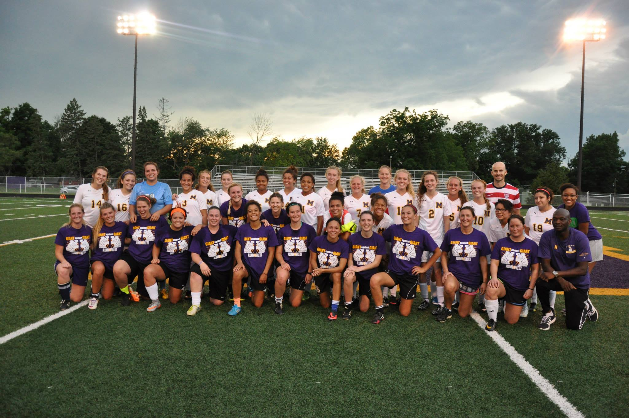 Giant Challenge girls soccer teams