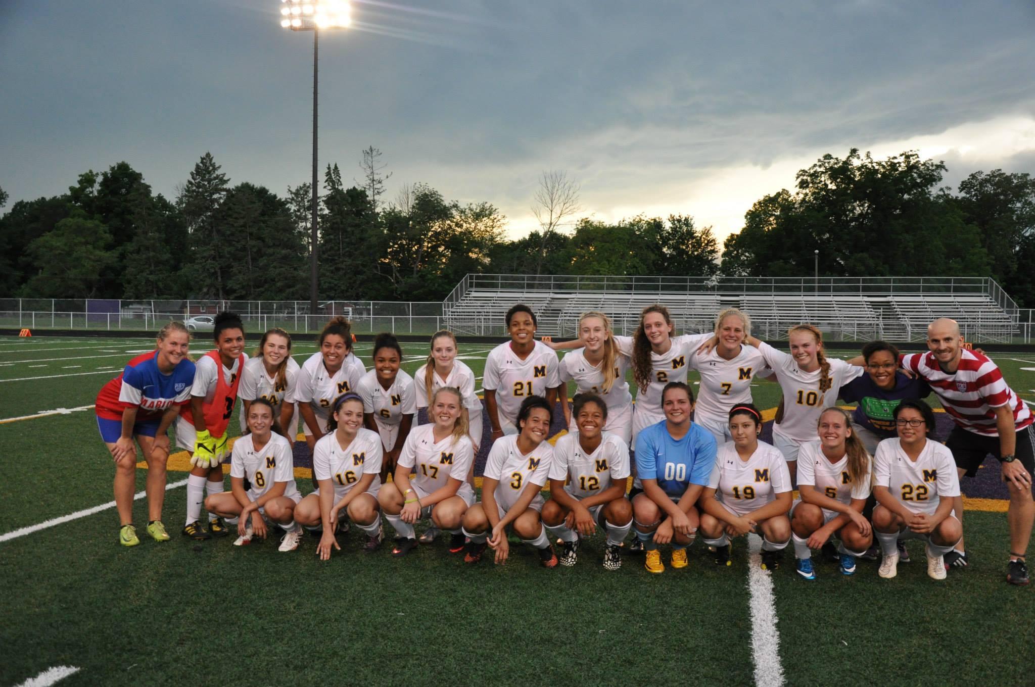 Giant Challenge girls soccer - varsity team
