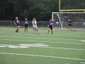 Giant Challenge girls soccer game