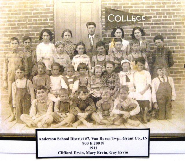 Anderson, Van Buren Township 1911