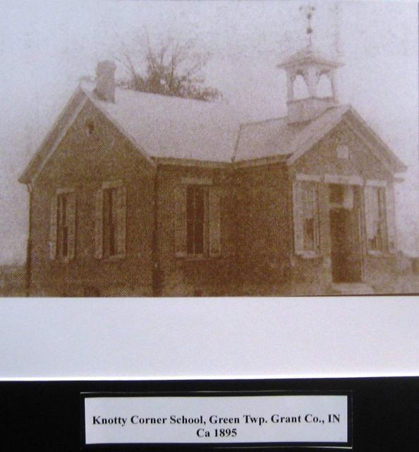 Knotty Corner School 1895
