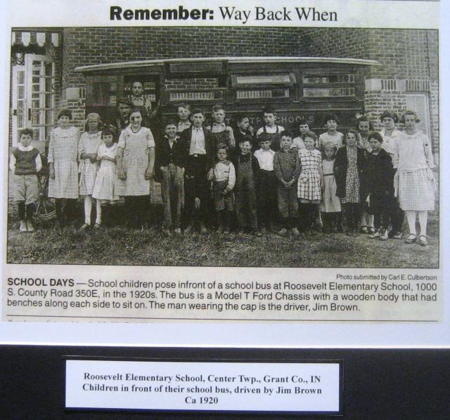 Roosevelt School 1920