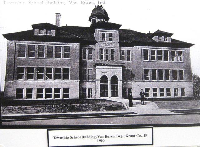 Van Buren Township School 1900