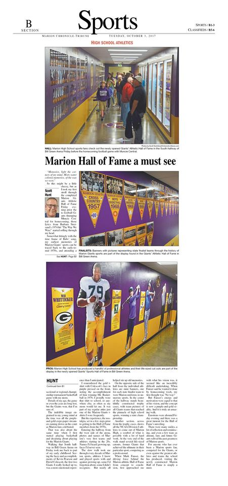 MHS Sports Hall of Fame