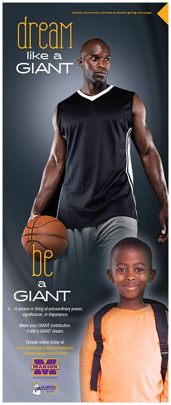 Giant Dreaming ... basketball!